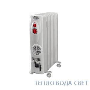TBK. Маслян/рад. EHX вент. 9c 2,5 кВт